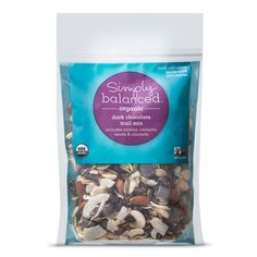 Simply Balanced Organic Dark Chocolate Trial Mix 10 oz