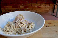 Spaghetti cu somon, capere si lamaie - reteta Ethnic Recipes