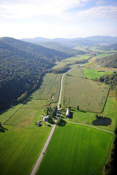 the wonderful green mountains, vermont
