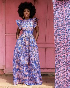 African Maxi Dresses, Latest African Fashion Dresses, Women's Fashion Dresses, Ankara Maxi Dress, Modesty Fashion, African Clothes, African Inspired Fashion, African Print Fashion, Fashion Prints