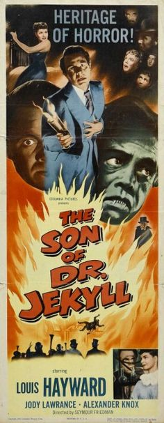 """""""The Son of Dr.Jekyll """". (1951)"""