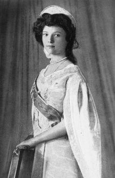Dit is Tatiana Romanov. een van de 4 meisjes.