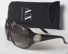 Armani  Exchange women sunglasses model AX247 brown frame with bag