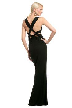 Alberta Ferretti Love Lockdown Gown ... for the next black tie event!