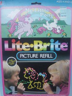 My favorite Lite-Brite patterns for sure