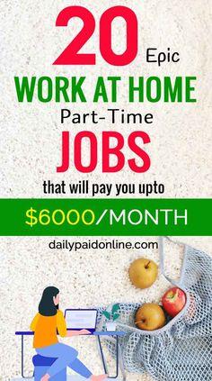 Ways To Earn Money, Earn Money Online, Online Jobs, Make Money From Home, Way To Make Money, Legit Work From Home, Legitimate Work From Home, Work From Home Jobs, Night Jobs
