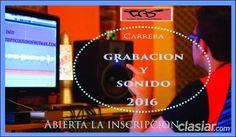 Carrera de grabacion y sonido http://lanus.clasiar.com/curso-de-grabacion-y-sonido-7-id-257039