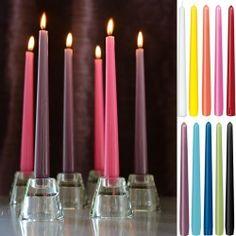 Duni Leuchterkerzen 250 x 22 mm in 20 Farben Bild 1