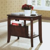 Found it at Wayfair - Magazine End Table