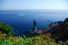 """「伝説の淑女」佐々木 敦子さん    """"Lady of Legend"""" taken by Sasaki Atsuko in Shakotan Peninsula , Hokkaido for the 23rd Photo Contest by Shakotan Tourism"""