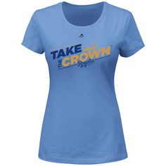 Kansas City Royals Take the Crown T-Shirt by Majestic Athletic - MLB.com Shop