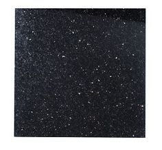 Polished Granite Black Galaxy (30.5x30.5cm)