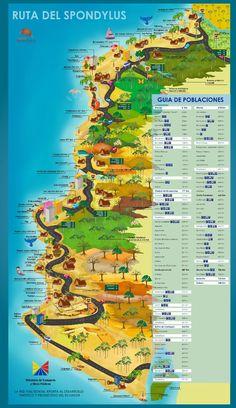 Mapa Turístico del Ecuador Mapa Turístico de Cañar Mapa Turístico Imbabura Mapa Turístico Napo Mapa Turístico de Orellana Mapa Turístico de...