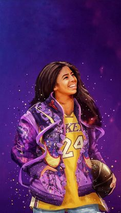 Remembering Gianna and Kobe Bryant 🏀🖤 The Black Mamba and Mambacita forever 🐍💔 Los Angeles Lakers History 💜💛 Kobe Bryant Family, Kobe Bryant 24, Lakers Kobe Bryant, Lakers Wallpaper, Teen Wallpaper, Nature Wallpaper, Iphone Wallpaper, Kobe Bryant Daughters, Kobe Bryant Quotes