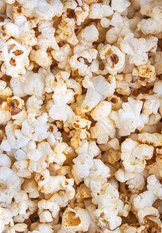 Old Bay Popcorn (Stove Top Popcorn Recipe) - A Beautiful Plate Popcorn Seeds, Popcorn Bowl, Popcorn Snacks, Popcorn Recipes, Snack Recipes, Old Bay Seasoning, Party Finger Foods, Summer Snacks, Stove