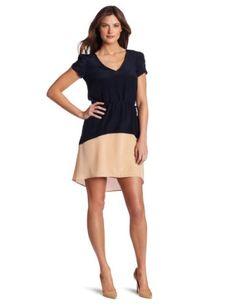 Julie Dillon Women's Short Sleeve Colorblock Dress