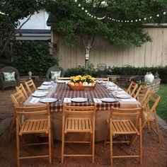 how to start a supper club, supper club, al fresco dining, fall decor