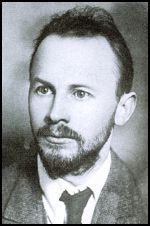 Nickolai Bukharin, one of the 'Old Bolsheviks' and early leaders of the party. He was first an ally of, then an opponent of Stalin during the struggle for power after Lenin's death. During the wave of mass repressions and killings in 1937-38 known as the Great Terror; Bukharin was one of the main defendants in the third Moscow show trial. He confessed, was found guilty, sentenced to death and almost immediately shot.