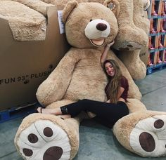 adorable, bear, big, body, cute, fashion, giant, girl, girls, girly, goals, huge, life size, love, need it, nike, omg, present, shoes, teddy bear, want, costco, relationship goals, costco bear