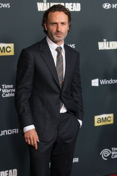 Andrew Lincoln -  Walking Dead Season 4 Preimiere Universal Studios Backlot October 2013