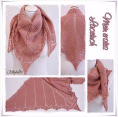 """Kostenlose Strickanleitung """"mein erstes Lacetuch"""" / Free pattern """"my first lace shawl"""""""