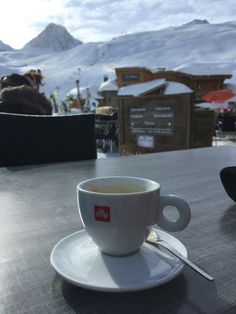 Coffee in the Alps