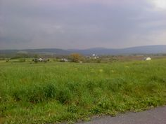 Storm coming, over the Blue Mountains, Perry County, PA.