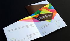 Brochure design doesn't have to be boring - it can be striking, stylish and extremely stimulating.