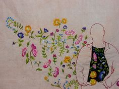 A needle and thread toolkit – James Hunting Part one - Textile Artist