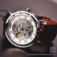 Mens Mechanical Watch Steampunk WAT0081 by VintageLovers2012, $29.99