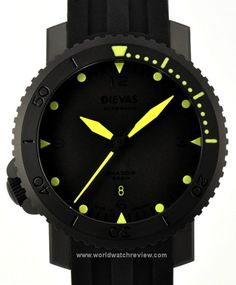 Dievas Shadow Stealth 500M Automatic Diver
