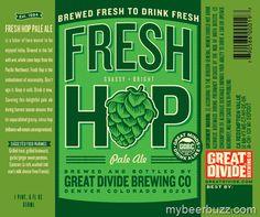 Great Divide - Fresh Hop Pale Ale 22oz Bottles