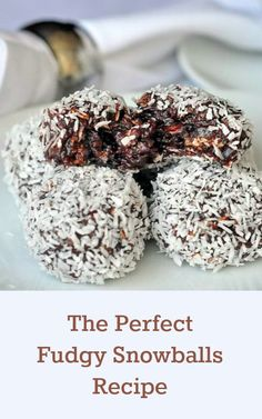 Newfoundland Snowballs - the most searched for Newfoundland recipe on RockRecipes.com. Soft chocolate fudge balls with the goodness of oatmeal and coconut.