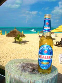 Kalik Beer, Treasure Cay Beach - Abaco Bahamas