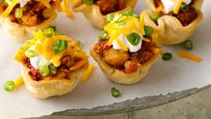 Happy Hour! Pair margaritas with these sausage and potato Mexican appetizers.
