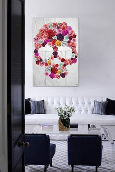 "Oliver Gal ""Bed of Roses"" Canvas Art by Oliver Gal Gallery  About This Item Edgy artwork with a feminine touch from Oliver Gal Artist Co. will make a bold statement in your decor. - Color: Multi - Fine art canvas print by The Oliver Gal Artist Co. - Professionally hand stretched gallery wrapped in sustainable, FSC certified wood - Arrives ready to hang with all hardware included Materials Canvas, wood frame Care Info Lightly dust with dry cloth."