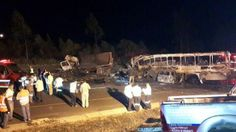 Ten killed, forty injured in bus collision near Whiteriver, Mpumalanga|Arrive Alive South Africa