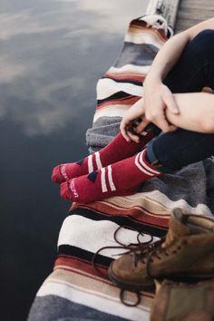 Bartrams Sock - Red Diamond | United By Blue