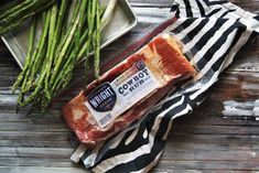 This is a sponsored conversation written by me on behalf of Tyson Foods, Inc. The opinions and text are all mine. #WrightCowboyRubBacon Bacon Wrapped Asparagus is an easy, elegant side dish that the whole family will love. Tender asparagus stalks are wrapped in thick-cut bacon and roasted to crispy perfection! Bacon lovers rejoice! In my … Bacon Wrapped Asparagus, Grilled Asparagus, Tyson Foods, Thick Cut Bacon, Hollandaise Sauce, Summer Treats, Easy Peasy, Sprouts, Conversation