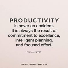 Productivity takes work. Hard work yields results. ✔️ #beproductive