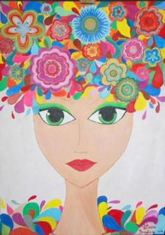 Tablou &quot Disney Characters, Fictional Characters, Crafty, Disney Princess, Paintings, Paint, Painting Art, Draw, Painting