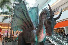 Dragões vão tomar conta de Brasília em exposição gratuita #timbeta #sdv #betaajudabeta