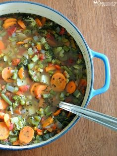 Healthy Loaded Vegetable Soup