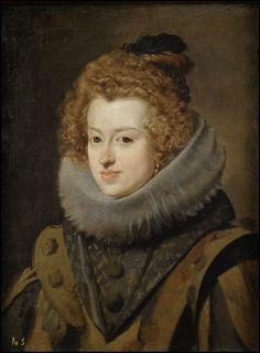 Diego Velázquez - Maria Anna of Spain