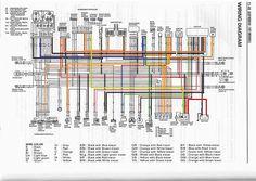 62 best my bandit 400 builds images on pinterest building rh pinterest com Honda CB 400 suzuki gsf 400 wiring diagram