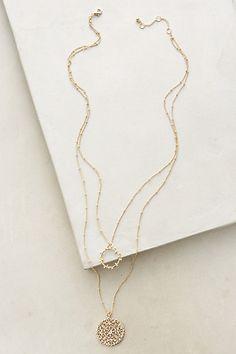 Maneto Pendant Necklace #anthropologie