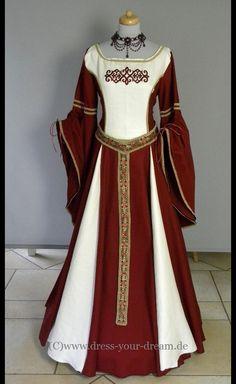 Mittelalter - Mittelalter*Brautkleid*Damen*Gewand*Kleid*Larp - ein Designerstück von Dress-your-Dream bei DaWanda