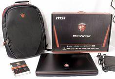 MSI GT80 TITAN GAMING 18 i7-5950HQ 24GB 256GB SSD 1TB HDD GTX 980M SLI Laptop