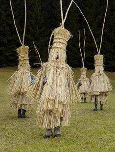 "Charles Freger ""Wilder Mann"" series - documenting ""wild man"" costumes of European pagan tribes"