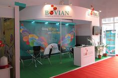 Bovian Health Care is an integrated Animal Health and Nutrition Company  involved in the manufacture of products such as Anthelmintics, Ecto and Endo Paraticides, Antimicrobials, Vitamin Injections, NSAIDS, Hormones, Feed Supplments, Milk Enhancers, Toxin Binders, and Feed Premixes. THOTIN designed the exhibition stall for them to showcase their new range of products for poultry farming.